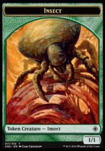 Tokens Magic Magic the Gathering Token/jeton - Conspiracy : Take The Crown - Insecte