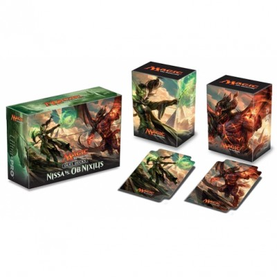 Boites de rangement illustrées  Deck Box - 3 En 1 - Duel Decks: Nissa Vs Ob Nixilis