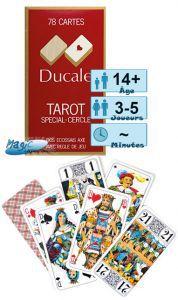 Jeux de cartes Jeux de Tarot - Ducale - 78 cartes