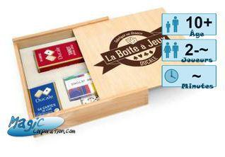 Incontournables Petits Jeux La boite a jeux - Ducale - Tarot + yam's etc