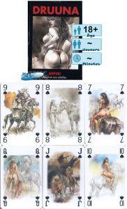 Jeux de cartes Petits Jeux Jeux de 54 cartes  Druuna - Serpieri