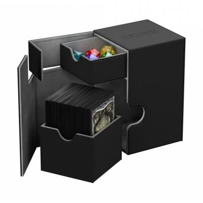 Boites de Rangements Accessoires Pour Cartes Deck Box Ultimate Guard - Xenoskin 100 - Noir - T2+
