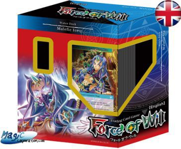 Starters Force of Will Force of Will Starter Deck - Deck De Démarrage + 3 Boosters - Eau