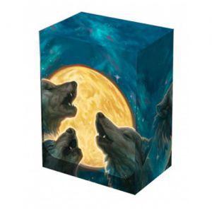 Boites de rangement illustrées  Deck Box - 3 Wolves