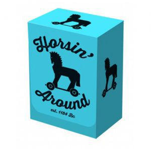 Boites de rangement illustrées  Deck Box - Horsin' Around