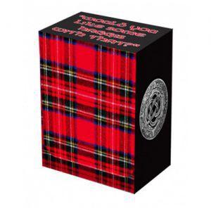 Boites de rangement illustrées Accessoires Pour Cartes Deck Box Legion - Tartan - BOX031 - ACC