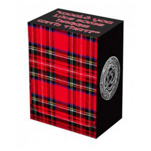 Boites de rangement illustrées  Deck Box Legion - Tartan - BOX031 - ACC
