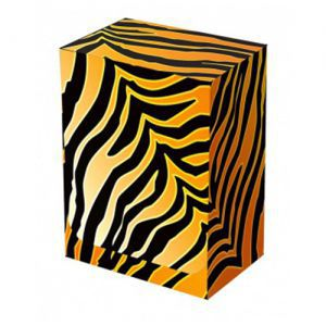 Boites de rangement illustrées  Deck Box - Tiger Pattern