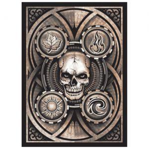 Protèges Cartes illustrées Accessoires Pour Cartes 50 Pochettes Legion - Dead Man's Hand (tete De Mort) - Acc
