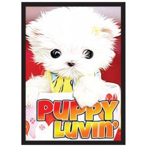 Protèges Cartes illustrées  50 Pochettes - Puppy Luvin