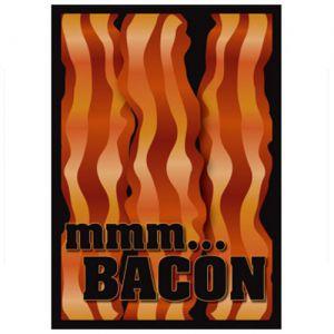 Protèges Cartes illustrées Accessoires Pour Cartes 50 Pochettes - Bacon