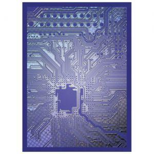 Protèges Cartes illustrées Accessoires Pour Cartes 50 Pochettes - Circuit Bleu