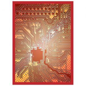 Protèges Cartes illustrées Accessoires Pour Cartes 50 Pochettes - Circuit Rouge
