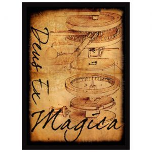 Protèges Cartes illustrées  50 Pochettes - Deus Ex Magica