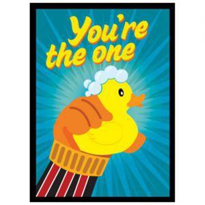 Protèges Cartes illustrées  50 Pochettes  - Ducky