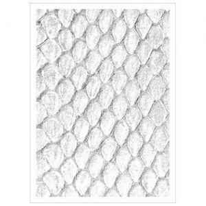 Protèges Cartes illustrées Sleeves - Dragon Hide - 50 Pochettes - White