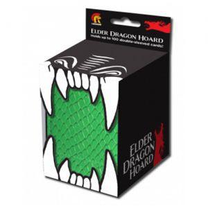 Boites de Rangements Accessoires Pour Cartes Deck Box Legion - Hoard - Elder Dragon Vert - (simple) - Acc