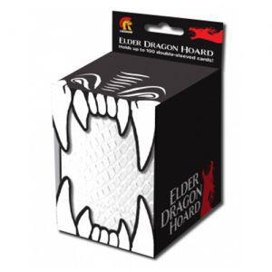 Boites de Rangements Accessoires Pour Cartes Deck Box - Elder Dragon Hoard - White