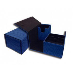 Boites de Rangements Accessoires Pour Cartes Deck Box Legion - Elder Dragon Vault - Bleu Double - ACC