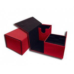 Boites de Rangements Accessoires Pour Cartes Deck Box - Dragon Hide - Vault - Red