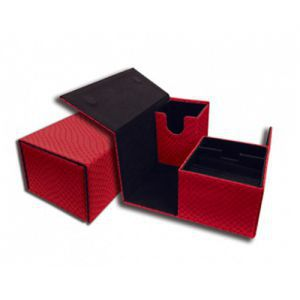 Boites de Rangements  Deck Box - Dragon Hide - Vault - Red