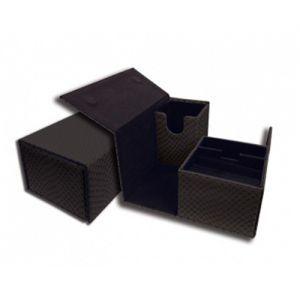 Boites de Rangements Accessoires Pour Cartes Deck Box - Dragon Hide - Vault - Black