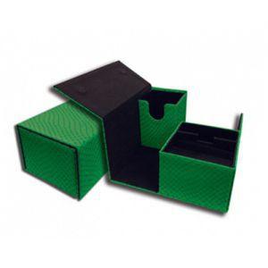 Boites de Rangements Accessoires Pour Cartes Deck Box Legion - Elder Dragon Vault - Vert Double - Acc