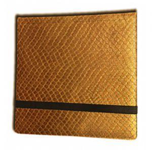 Classeurs et Portfolios Binder - Dragon Hide - 12 Cases - Gold