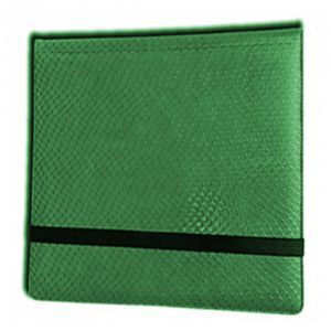 Classeurs et Portfolios Accessoires Pour Cartes Binder - Dragon Hide - 12 Cases - Green