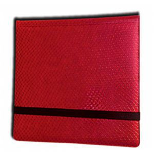 Classeurs et Portfolios  Binder - Dragon Hide - 12 Cases - Red