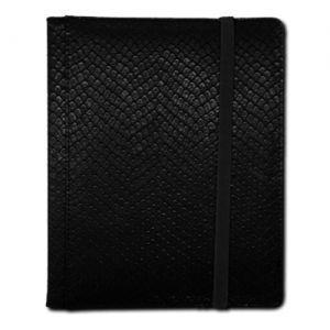 Portfolio  Binder - Dragon Hide - 4 Cases - Black