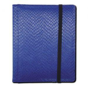 Classeurs et Portfolios Accessoires Pour Cartes Binder - Dragon Hide - 4 Cases - Blue