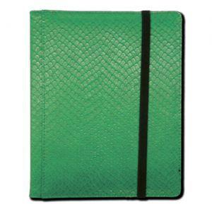 Classeurs et Portfolios Accessoires Pour Cartes Portfolio Legion - A5 Dragonhide Binder 4 Cases - Vert - Acc