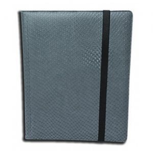 Portfolios  Binder - Dragon Hide - 4 Cases - Grey