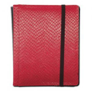 Classeurs et Portfolios Accessoires Pour Cartes Binder - Dragon Hide - 4 Cases - Red