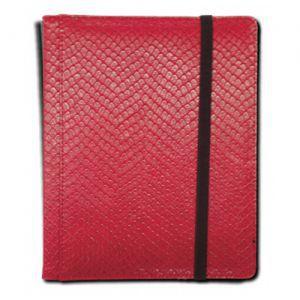 Classeurs et Portfolios  Binder - Dragon Hide - 4 Cases - Red