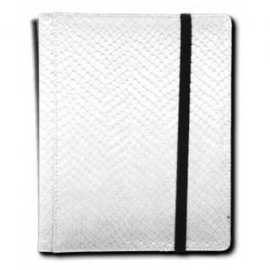 Classeurs et Portfolios Accessoires Pour Cartes Binder - Dragon Hide - 4 Cases - White