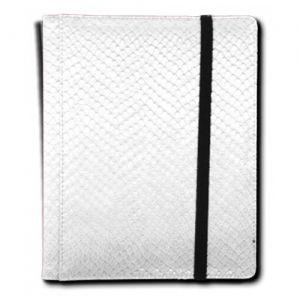 Classeurs et Portfolios  Binder - Dragon Hide - 4 Cases - White