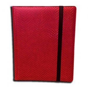 Classeurs et Portfolios  Binder - Dragon Hide - 9 Cases - Red