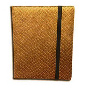 Classeurs et Portfolios  Binder - Dragon Hide - 9 Cases - Gold
