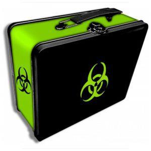 Boites de rangement illustrées  Deck Box - Biohazard Tin Métal