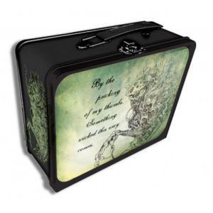 Boites de rangement illustrées Deck Box - Something Wicked Tin Métal