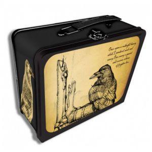 Boites de rangement illustrées Deck Box - Raven Tin Métal