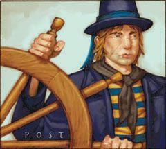 Pirates of the South China Seas Pirates 119 - Helmsman (Treasure) - Pirates of the South China Seas