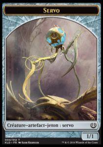 Token Magic Magic the Gathering Token/Jeton - Kaladesh - 04/12 Servo