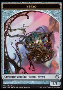 Tokens Magic Token/Jeton - Kaladesh - 05/12 Servo