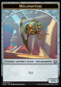 Tokens Magic Accessoires Pour Cartes Token/Jeton - Kaladesh - Mécanoptère 009/012