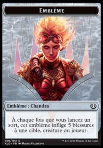 Tokens Magic Accessoires Pour Cartes Token/Jeton - Kaladesh - Embléme Chandra