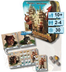 Autres petits jeux Petits Jeux Les Bâtisseurs - Moyen-age