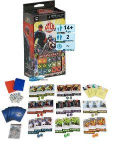 Autres petits jeux Dice masters - Age of Ultron - Marvel - starter set pour 2 joueurs